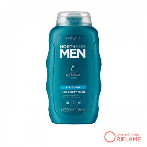 Dầu Tắm & Gội North for Men Original Hair & Body Wash 32005