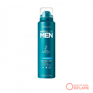 Xịt Khử Mùi North for Men Original Deo Spray 24H 32006