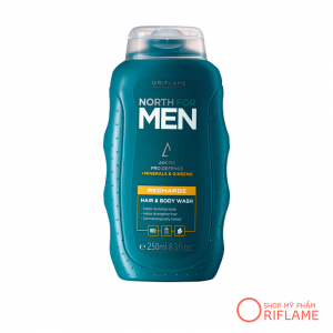 Dầu Gội & Sữa Tắm North for Men Recharge Hair & Body Wash 32011