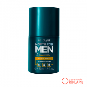 Lăn Khử Mùi North for Men Recharge Deo Roll-On 48H 32013