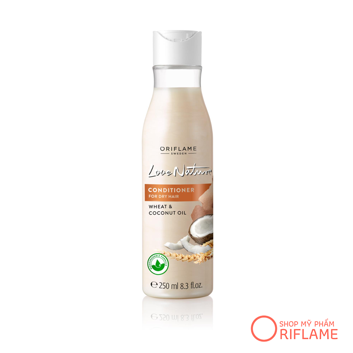 Dầu Xả Love Nature Conditioner for Dry Hair Wheat & Coconut Oil 32619