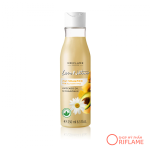 Dầu gội Love Nature 2in1 Shampoo - Avocado Oil & Chamomile 32624