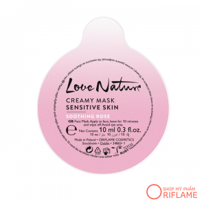 Mặt Nạ Love Nature Creamy Mask Sensitive Skin Soothing Rose 34865