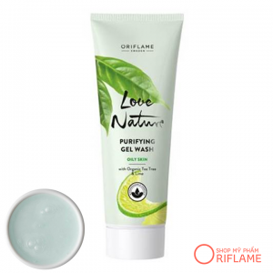Love Nature Purifying Gel Wash with Organic Tea Tree & Lime 34841