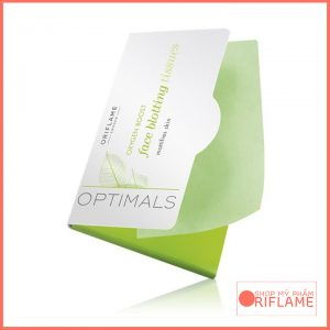 Optimals Oxygen Boost Face Blotting Tissues 27670