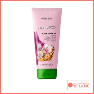Love Nature Body Lotion Pampering Sesame Oil & Magnolia