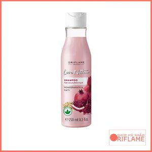 Love Nature Shampoo for Coloured Hair Pomegranate & Oats