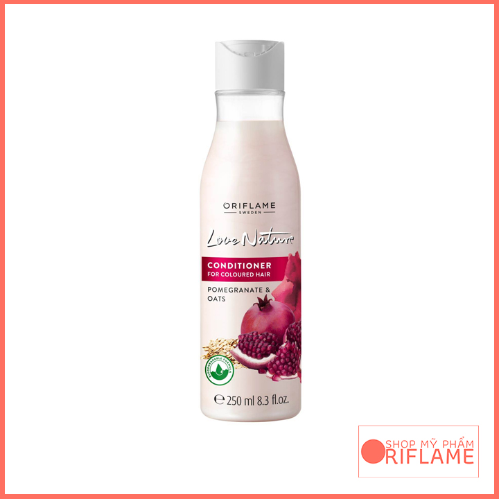 Love Nature Conditioner for Coloured Hair Pomegranate & Oat