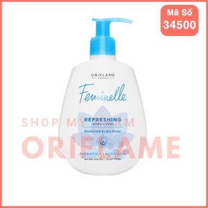 Dung Dịch Vệ Sinh Phụ Nữ Feminelle Refreshing Intimate Wash Blackcurrant & Lotus Flower 34500